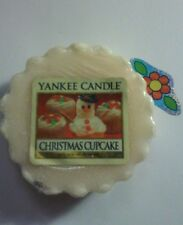 YANKEE CANDLE CHRISTMAS CUPCAKE  TART  COMBINED SHIPPING HUNDREDS LISTED