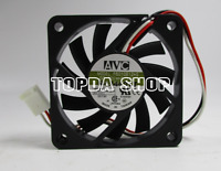 1pc F6010B12HS Double ball cooling fan 12V 0.19A 6010mm 3pin    #XX