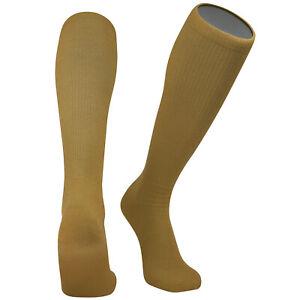 Pearsox All Sport  Knee High Long Baseball Football Tube Socks, Vegas Gold
