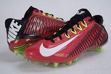 NIB $150 Mens Nike Vapor Carbon ELT 2014 TD Football Cleats sz 10.5-13 Red Black