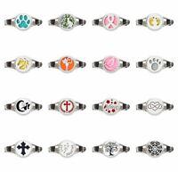 Perfume Bracelet Essential Oil Aromatherapy Diffuser PU Leather Strap Wristband