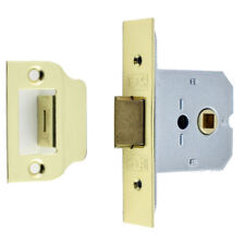 Architectural Box Latch Bolt Through Flat Mortice Brass 64mm EuroSpec FLL8025EB