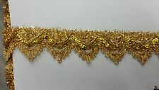 Metallic gold  braid ,sold by 15 yards ,br-131