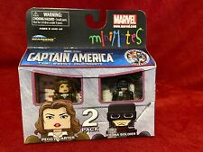 MARVEL MiniMates 2011 CAPTAIN AMERICA First Avenger AGENT CARTER HYDRA Soldier