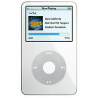 New Apple iPod Classic Video WHITE Thin (256GB) SSD 3000mAh Battery