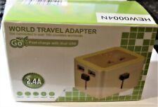 Go Travel World Adapter