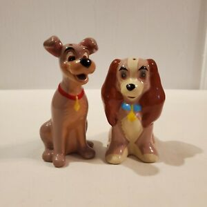 Disney Lady and The Tramp Salt and Pepper Shaker Set