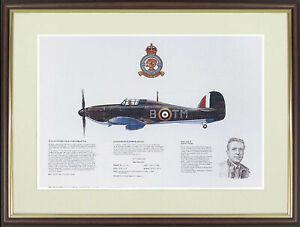 "Hawker Hurricane picture ""Hawker Hurricane Mk1"" by M.A.Kinnear - NGAP04"