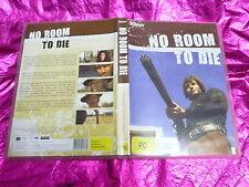 NO ROOM TO DIE : (DVD, PG) FREE POST