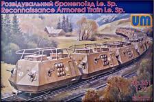 UniModels — Reconnaissance armored train — Plastic model kit 1:72 Scale #261