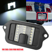 Rear License Plate Light Bulb Tag Lamp Lens 4R3Z13550AA For Ford Mustang 05-2009