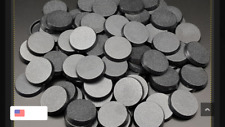 Pack of 100, 32 mm Plastic Round Bases Miniature Wargames Table Top Gaming 40k