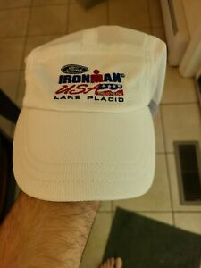 Ironman Lake Placid Headsweats Hat No Year (Doesn't say finisher)