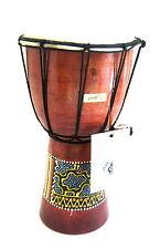 "Djembe Drum Bongo Congo African Drum WOOD DRUM - SIZE- 9"", JIVE® BRAND - NEW"