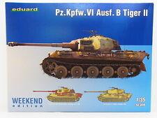LOT 17448 | Eduard 3741 Pz.Kpfw. VI Ausf. B Tiger II 1:35 Bausatz NEU in OVP