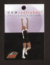 New Mexico Lobos--2002 Volleyball Pocket Schedule--Giant/Sprint