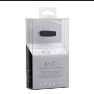 Plantronics M70 Bluetooth Headset-connects All Smart Phones (Long Battery Life )