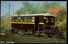 Chestnut Ridge Mack Rail Bus #51 postcard train railroad