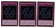 3 X Cube Mandala mvp1-deg44, 1 ère Edition, or rare, MINT