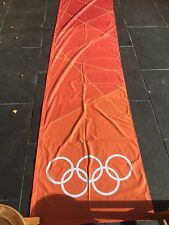 LONDON Paralympic Olympics 2012 Flag Sign Banner Olympic Rings Memorabilia 3.5M