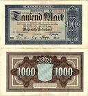 Länderbanknote 1000 Mark 1922 München Bayerische Notenbank BAY5c P-S924(3)
