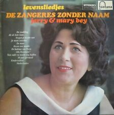 JERRY & MARY BEY - LEVENSLIEDJES ZANGERES ZONDER NAAM  -  LP