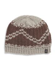6aee36da CHAOS Men's Chunky Knit Wool Blend Beanie Brown & Gray ...