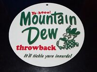 Vintage Mountain Dew Sign Replica 3D Printed It'll Tickle Yore Innards! 9.5""