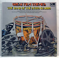 The band of the Scots Guards - Great film themes - 1970 vinyl LP 6309 012