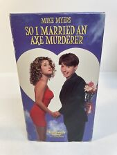 So I Married An Axe Murderer VHS (Mike Myers)