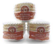 600 Kaffeefilter Korbfilter 80/200 Korbfiltertüten für Gastroback Beem Melitta