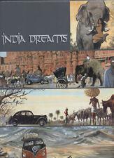 COFFRET. MARYSE & J.F CHARLES: INDIA DREAMS 1 à 5. REEDS + EO + 1 EX-LIBRIS.