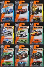 2017 Matchbox Wave L - All 9 Vehicles '70 Datsun 510 Rally/Pontiac/Scout/MOC