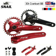 IXF 30T 104bcd CNC MTB Bike Crankset BB Narrow Wide Chainring 170mm Single Crank