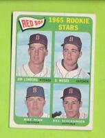 1965 Topps Red Sox Rookie Stars - Jim Lonborg etc (#573)