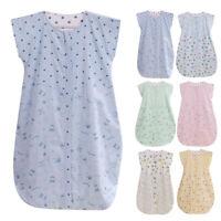 Baby Kids Double Layered Sleep Sack Cotton Wearable Blanket Baby Sleeping Bag