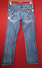 7 For All Mankind Boot Cut Bead Embellished Jeans 26 Excellent