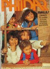 Revue de mode Catalogue de tricot - PHILDAR mailles n°38 - Enfants - 95 modèles