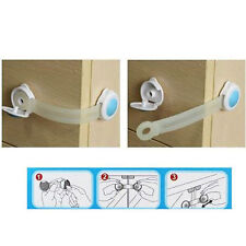 Pack of 12 Child Safety Locks Cupboard Fridge Door Prevent Accidents