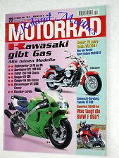 MOTORRAD 22-95+BMW F 650+HONDA VFR 750 F+SUZUKI DR 650+KAWASAKI+TRIUMPH 900