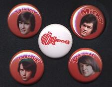 MONKEES Badges five Button Pins set - HEY HEY !