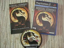 PLAYSTATION 2 PS2 MORTAL KOMBAT DECEPTION MK DECEPTION