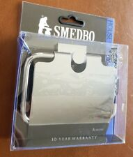 Smedbo House Papierhalter m. Deckel  verchromt NEU/OVP RK3414