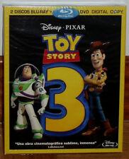 TOY STORY 3 COMBO 2 BLU-RAY+DVD DISNEY NUEVO PRECINTADO SLIPCOVER (SIN ABRIR) R2