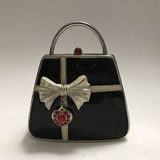 PartyLite Travel Votive Holder Black Purse Handbag