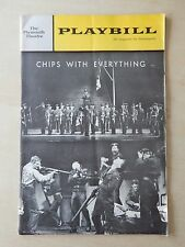 October 14th, 1963 - Plymouth Theatre Playbill - Chips With Everything - Bond