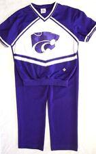 Kansas State Wildcats Mens Cheerleading Uniform Official NCAA Cheerleader & Danz