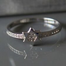 Sterling silver David Star CZ Ring by Lepos Jewellery