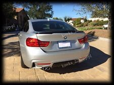 BMW 4 Series F36 Gran Coupe Rear Trunk Boot Lip Spoiler [PRIMED & QUALITY]