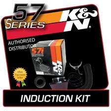 57-0107-1 K&N AIR INDUCTION KIT fits FIAT PUNTO 1.2 1997-1998 [8v]